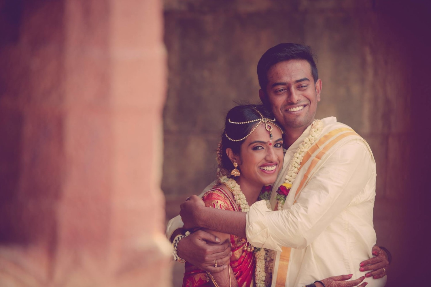 South Indian Bride And Groom by Dushyantha Kumar C Wedding-photography | Weddings Photos & Ideas
