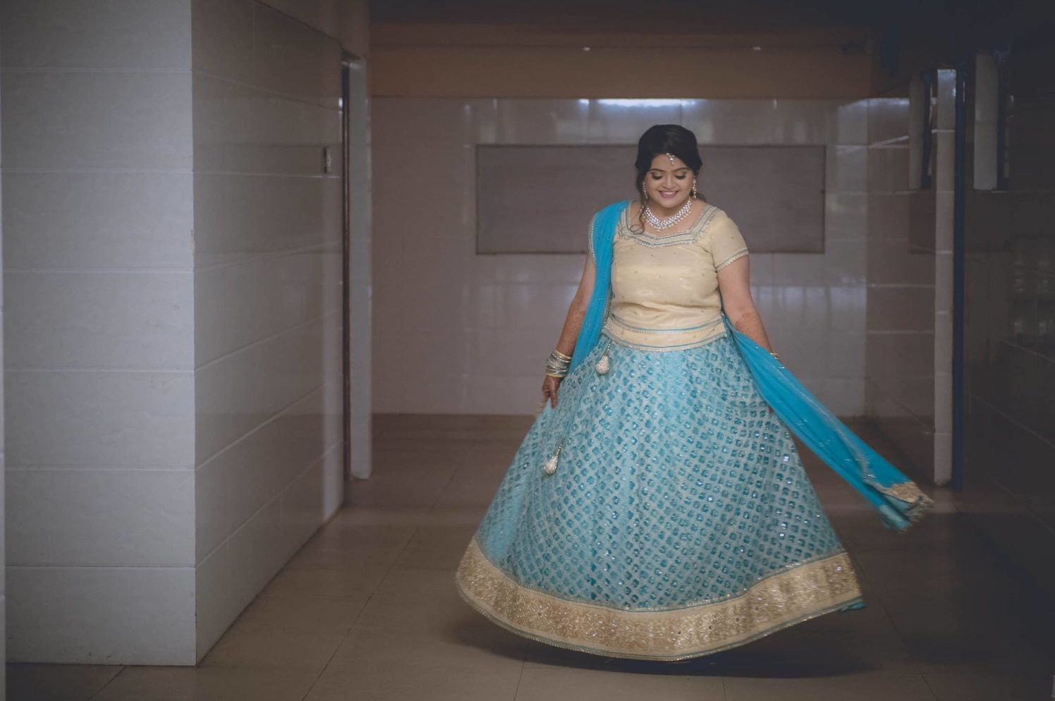 Swirling it away by Click n' Cherish Wedding-photography | Weddings Photos & Ideas