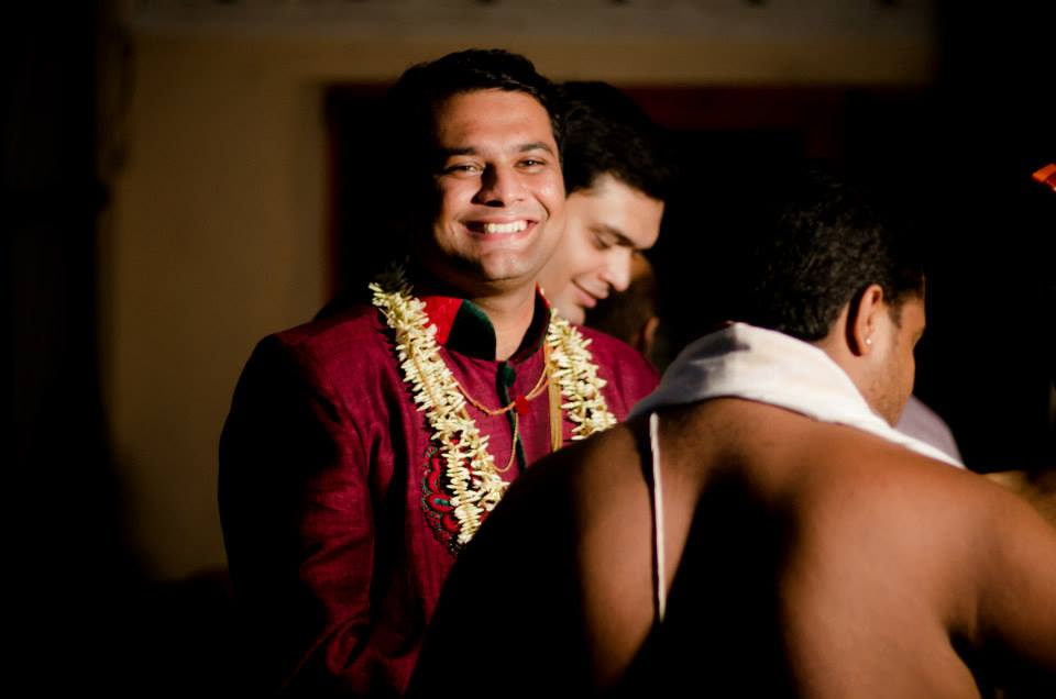 Happy groom by Click n' Cherish Wedding-photography | Weddings Photos & Ideas
