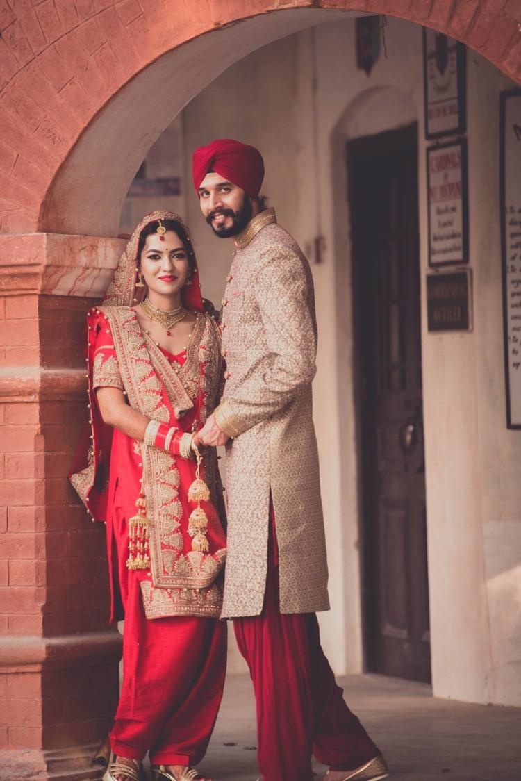 Happy couple posing On Their Wedding by Dushyantha Kumar C Wedding-photography   Weddings Photos & Ideas