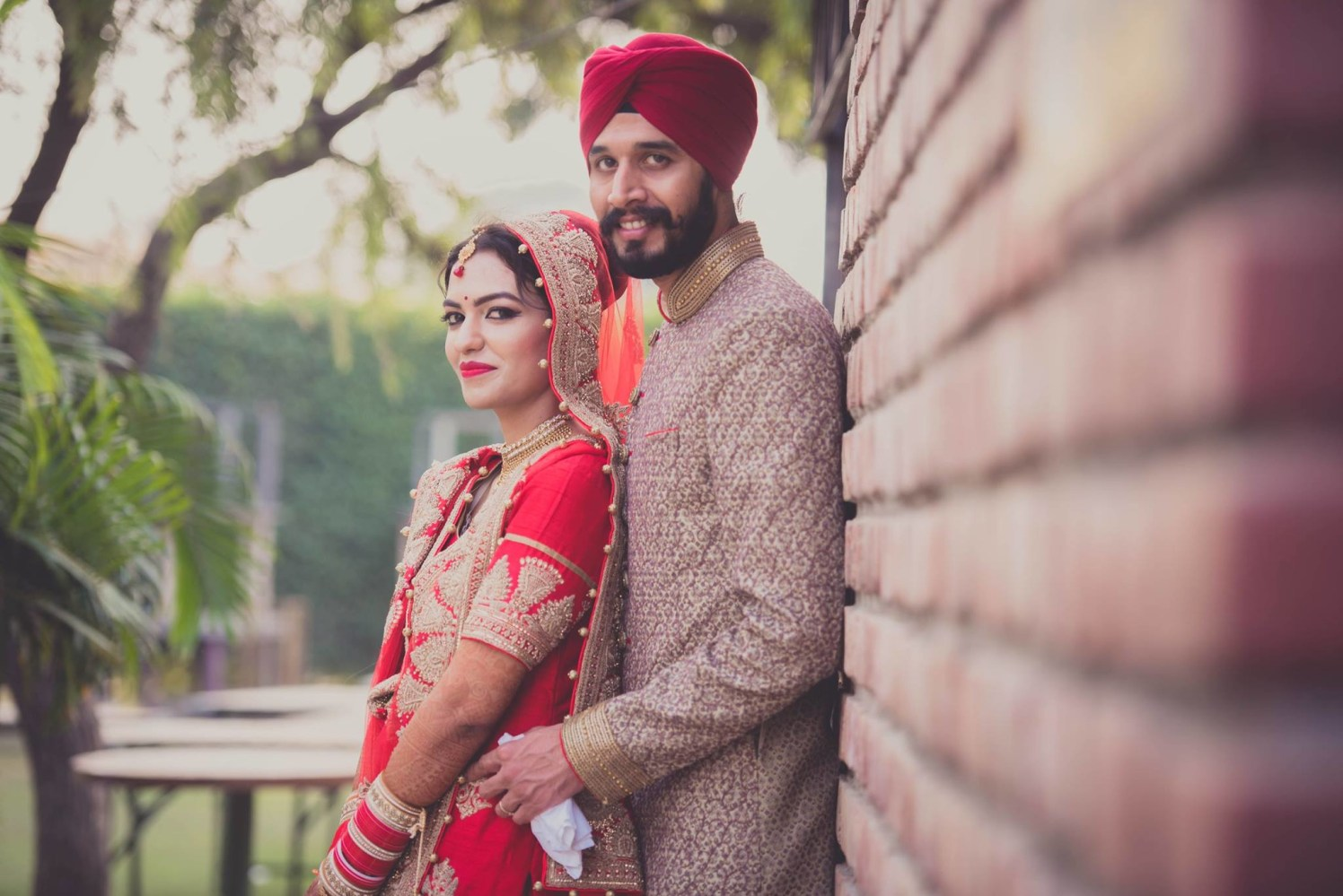 Bride And Groom On Their Wedding Day by Dushyantha Kumar C Wedding-photography | Weddings Photos & Ideas
