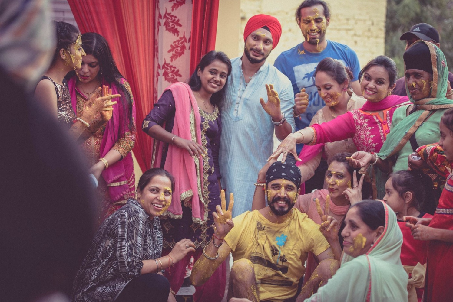 The Haldi ceremony by Dushyantha Kumar C Wedding-photography | Weddings Photos & Ideas