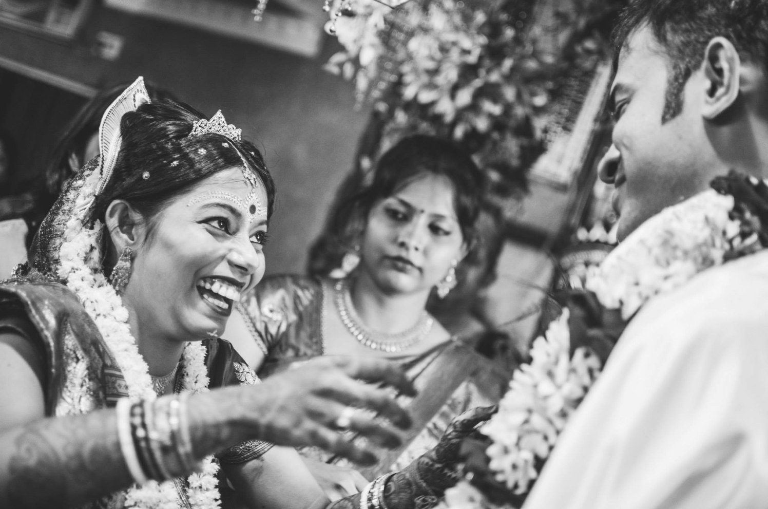 Laughter and smiles by Click n' Cherish Wedding-photography | Weddings Photos & Ideas