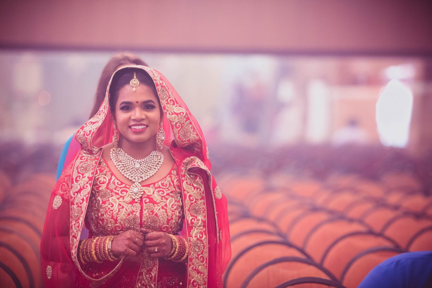 Beautiful Indian bride by Click n' Cherish Wedding-photography | Weddings Photos & Ideas