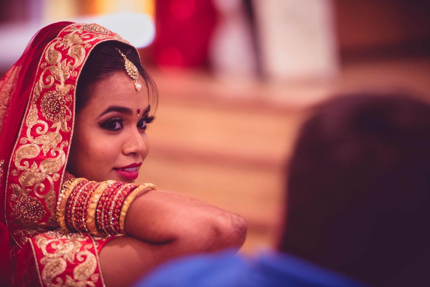 Pretty Indian bride by Dushyantha Kumar C Wedding-photography | Weddings Photos & Ideas