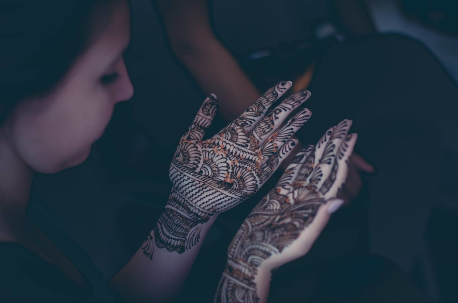 Bridal mehendi by Click n' Cherish Wedding-photography | Weddings Photos & Ideas
