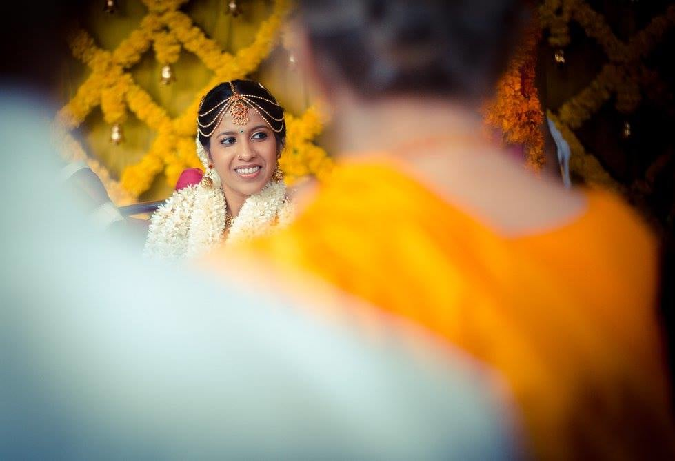 Beautiful bride by Click n' Cherish Wedding-photography | Weddings Photos & Ideas