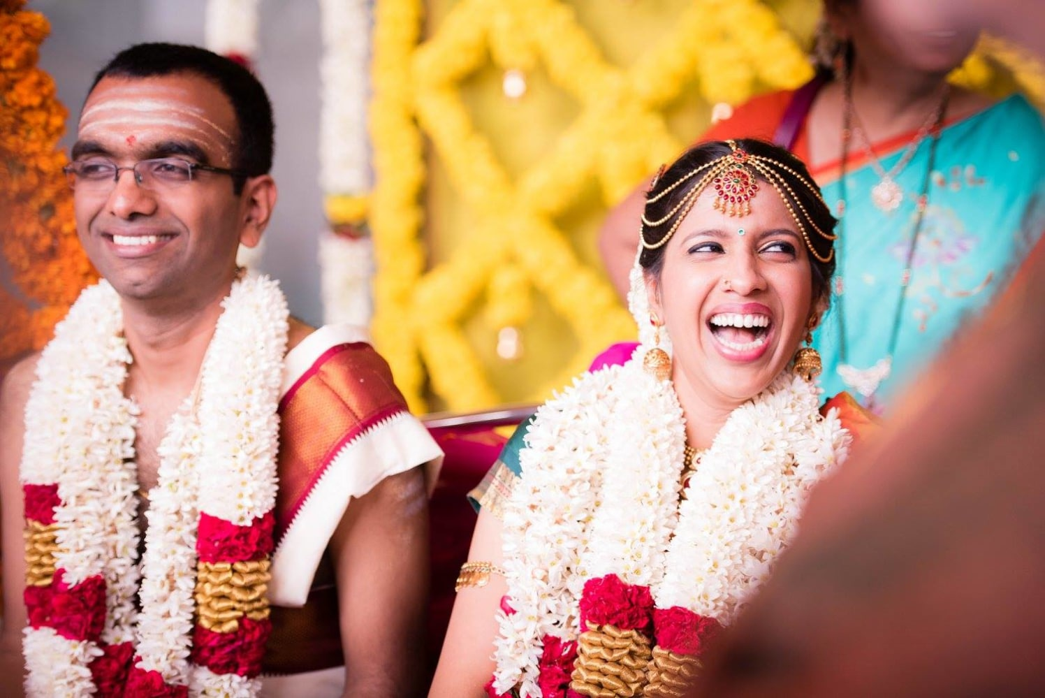 Love and laughter by Click n' Cherish Wedding-photography | Weddings Photos & Ideas