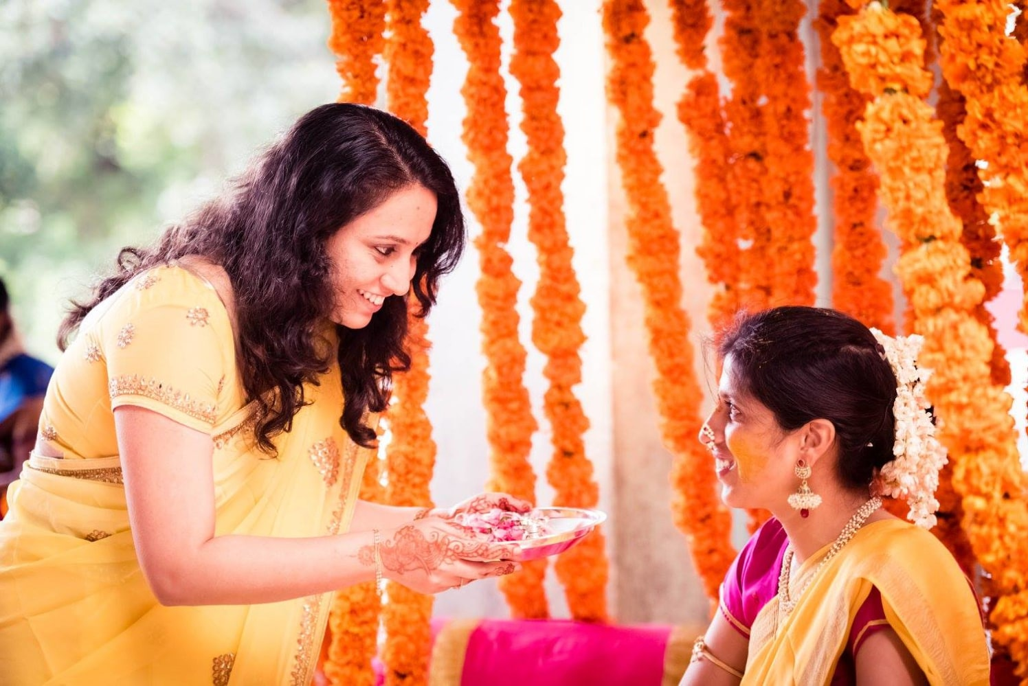 Haldi ceremony ideas by Click n' Cherish Wedding-photography | Weddings Photos & Ideas