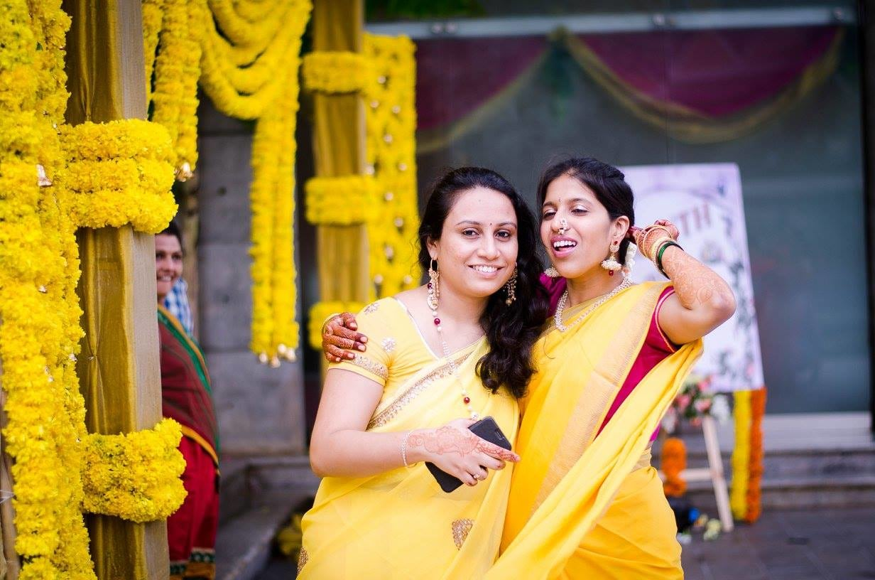 Bride in yellow by Click n' Cherish Wedding-photography | Weddings Photos & Ideas