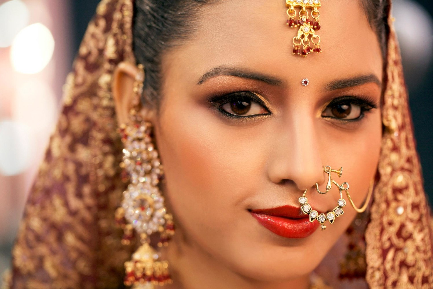 Beauteous bride by Mya Dang Bridal-makeup | Weddings Photos & Ideas