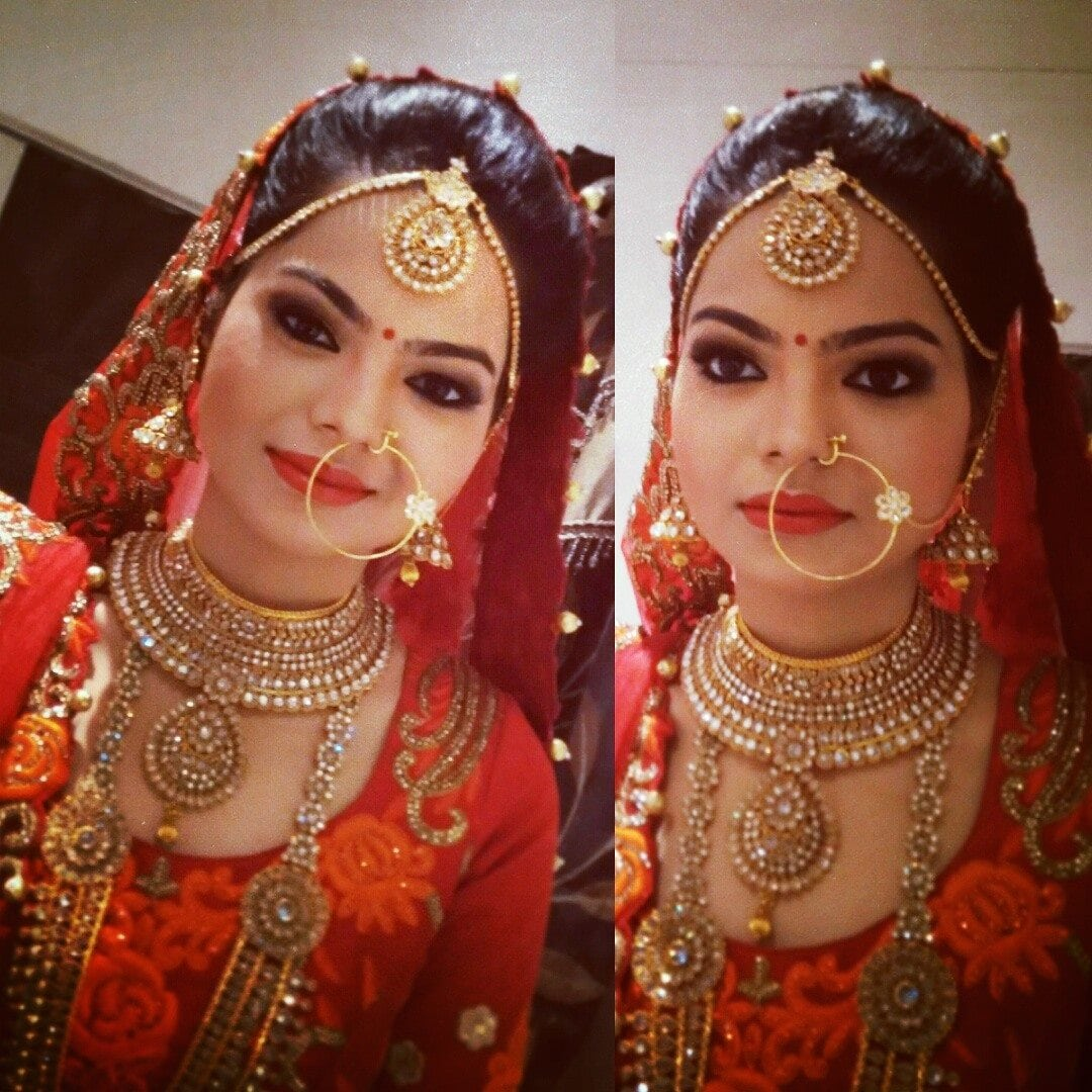 Pleasing bride by Mya Dang Bridal-makeup | Weddings Photos & Ideas