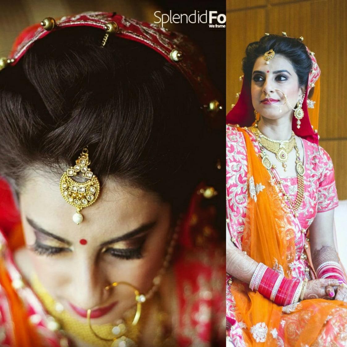 Elegant bride by Mya Dang Bridal-makeup | Weddings Photos & Ideas