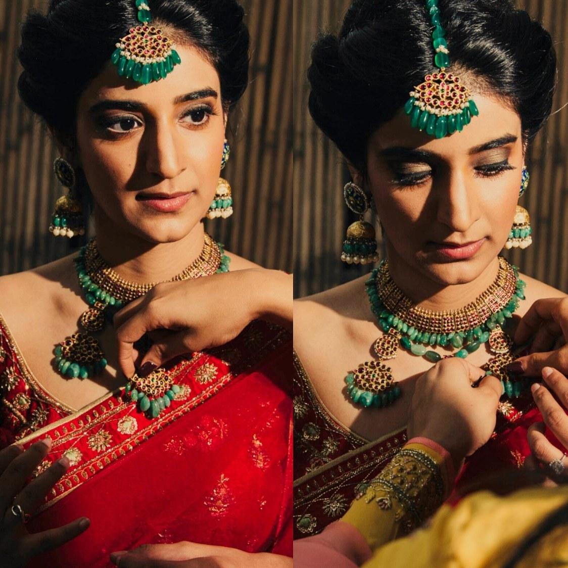 Hot Red by Mya Dang Bridal-makeup | Weddings Photos & Ideas