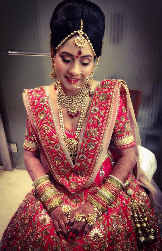 Antiquity at its best by Neha Puri Bridal-makeup | Weddings Photos & Ideas