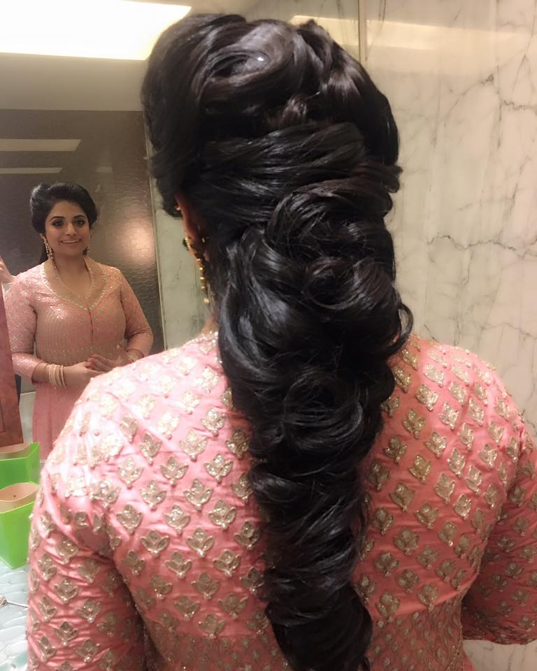Bridal hairdo by Neha Puri Wedding-photography | Weddings Photos & Ideas