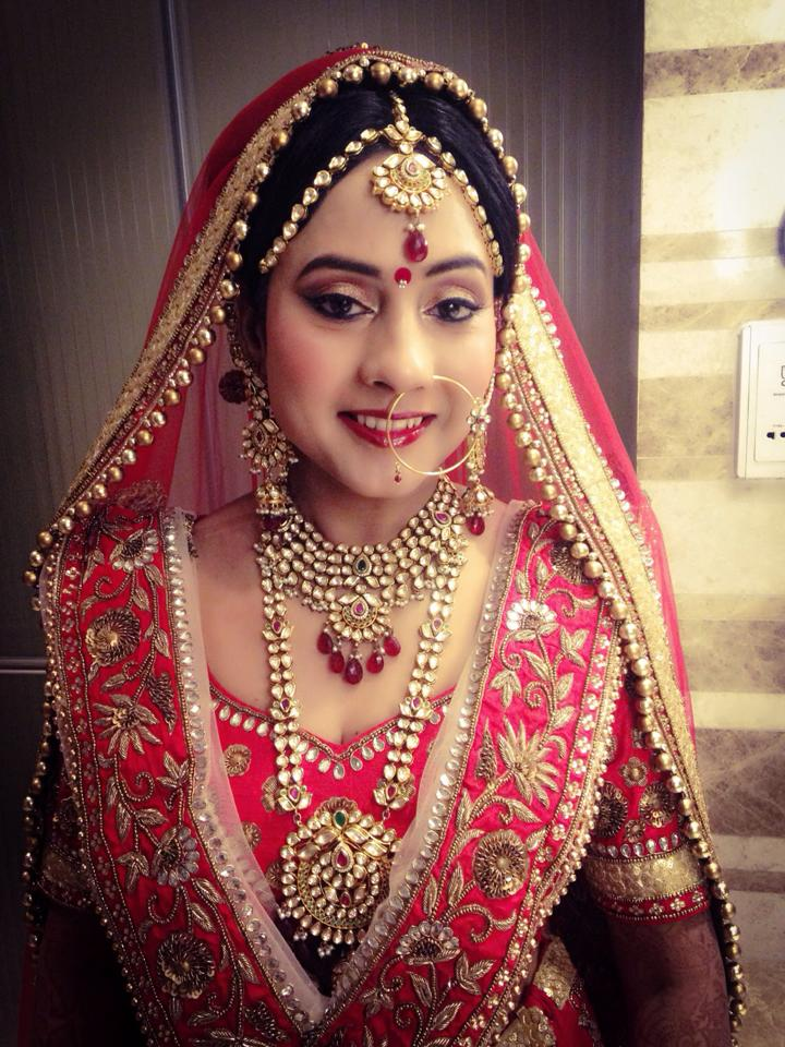 Dolled up by Neha Puri Bridal-makeup | Weddings Photos & Ideas