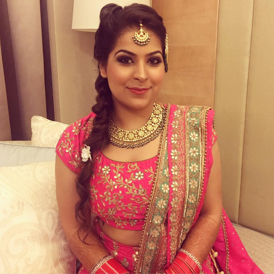 Reception look by Neha Puri Bridal-makeup | Weddings Photos & Ideas