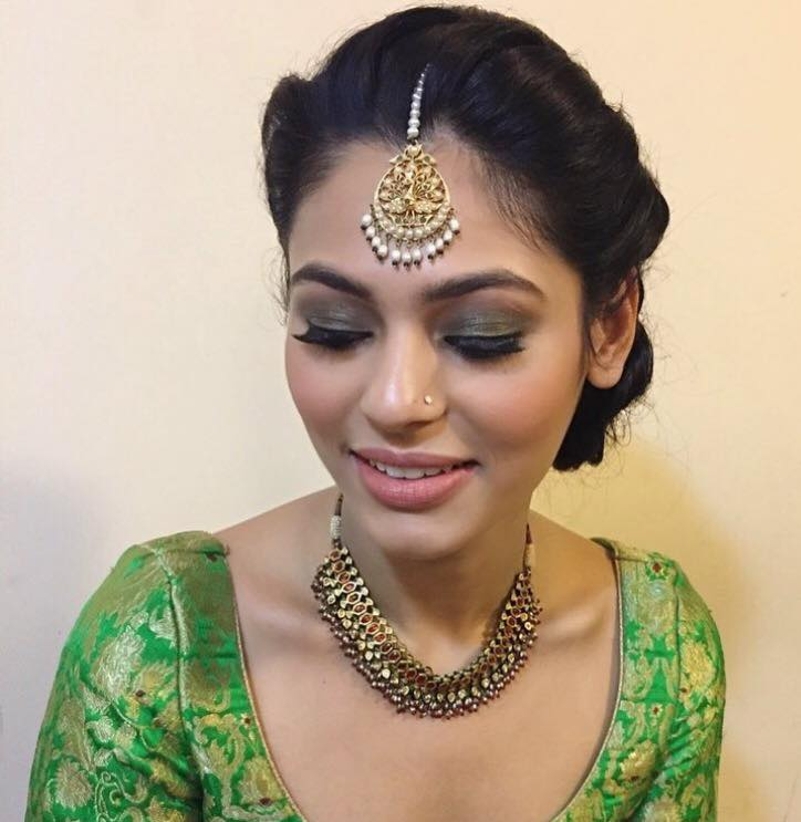 That eye shadow is so mesmerizing by Gursheen sethi Bridal-makeup | Weddings Photos & Ideas
