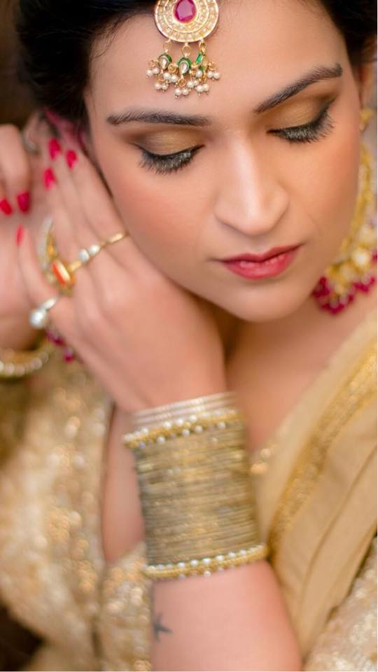 Makeup on point. by Gursheen sethi Bridal-makeup | Weddings Photos & Ideas