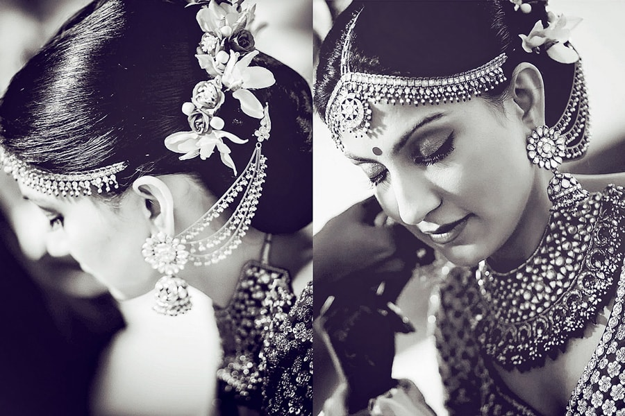 Bridal Hair With  Kundan Mang Tikka by Rajesh Luthra Bridal-jewellery-and-accessories | Weddings Photos & Ideas