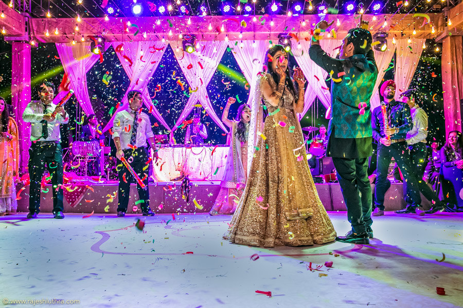 Confetti Celebration by Rajesh Luthra Wedding-photography | Weddings Photos & Ideas