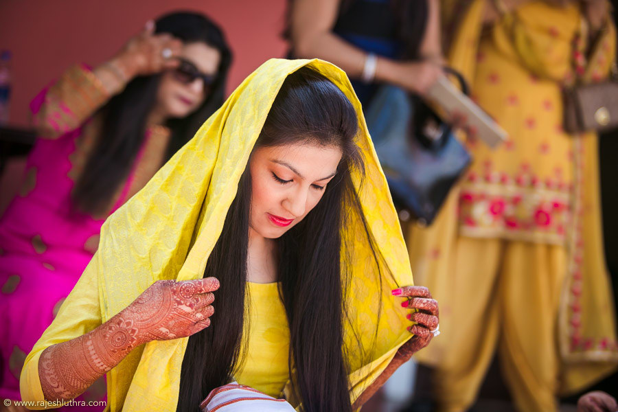 Haldi ceremony by Rajesh Luthra Wedding-photography | Weddings Photos & Ideas