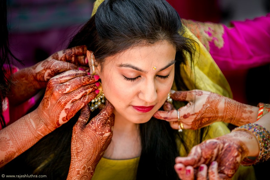 Haldi Ceremony by Rajesh Luthra Wedding-photography | Weddings Photos & Ideas