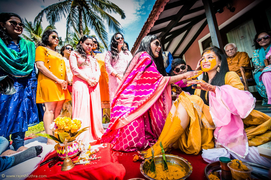 Auspicious Haldi Ceremony by Rajesh Luthra Wedding-photography | Weddings Photos & Ideas
