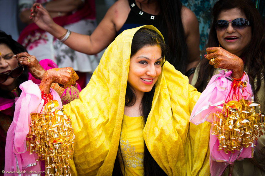 Haldi Ki Chankari by Rajesh Luthra Wedding-photography | Weddings Photos & Ideas