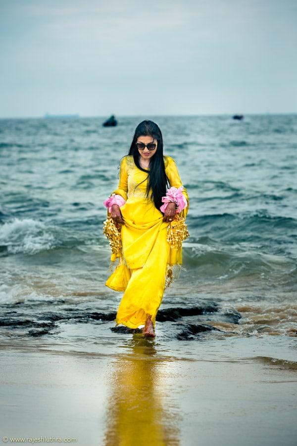 Vibrant Yellow Dress by Rajesh Luthra Wedding-photography   Weddings Photos & Ideas