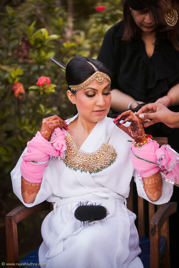 Getting Ready For The Big Day by Rajesh Luthra Wedding-photography | Weddings Photos & Ideas