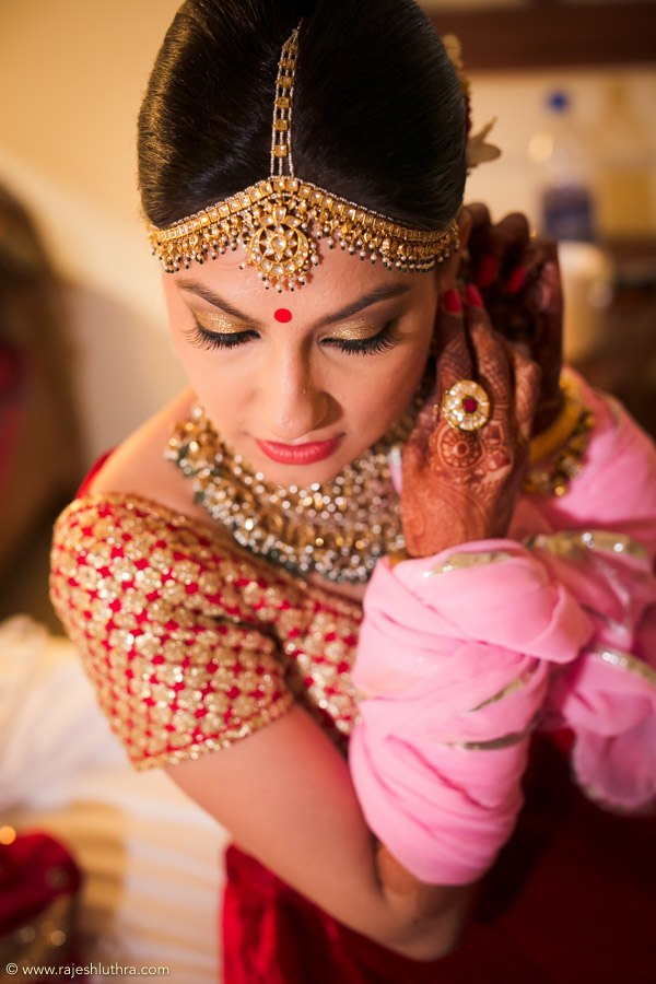 Statement Kundan Mang Tikka by Rajesh Luthra Wedding-photography | Weddings Photos & Ideas