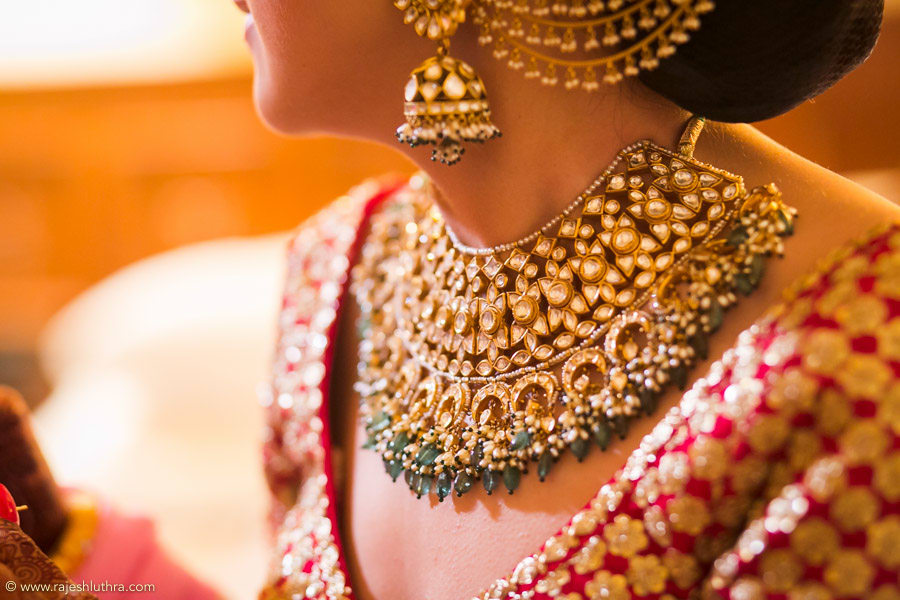 Stunning Polki And Kundan Necklace by Rajesh Luthra Wedding-photography | Weddings Photos & Ideas