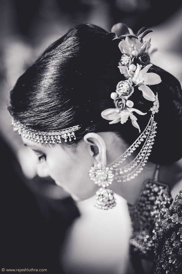 Bridal Hair With Jhumkas by Rajesh Luthra Wedding-photography | Weddings Photos & Ideas