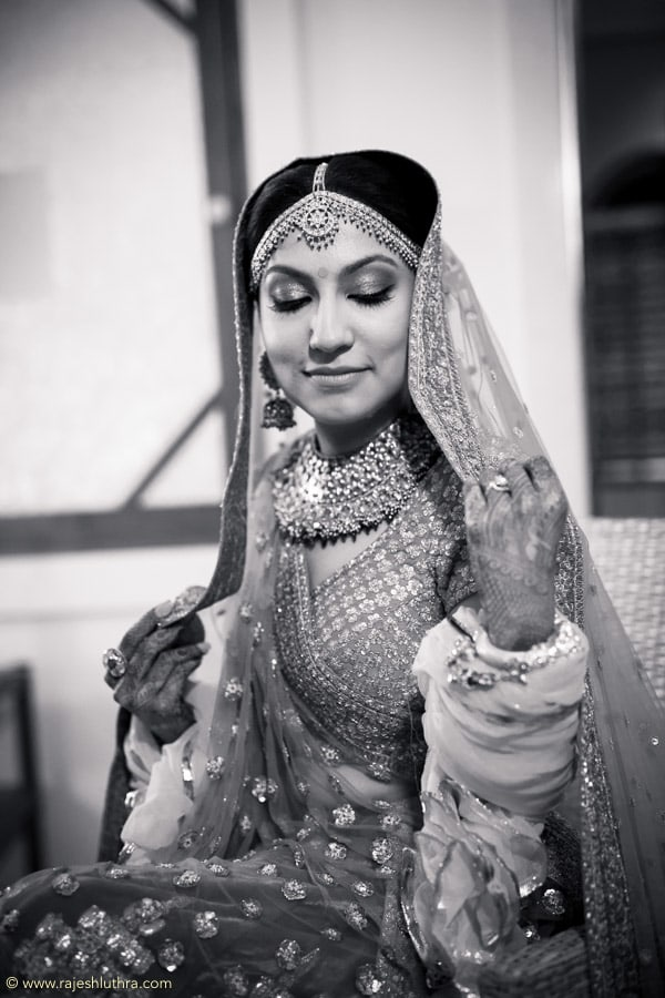 Ravishing bride Getting Ready by Rajesh Luthra Wedding-photography | Weddings Photos & Ideas