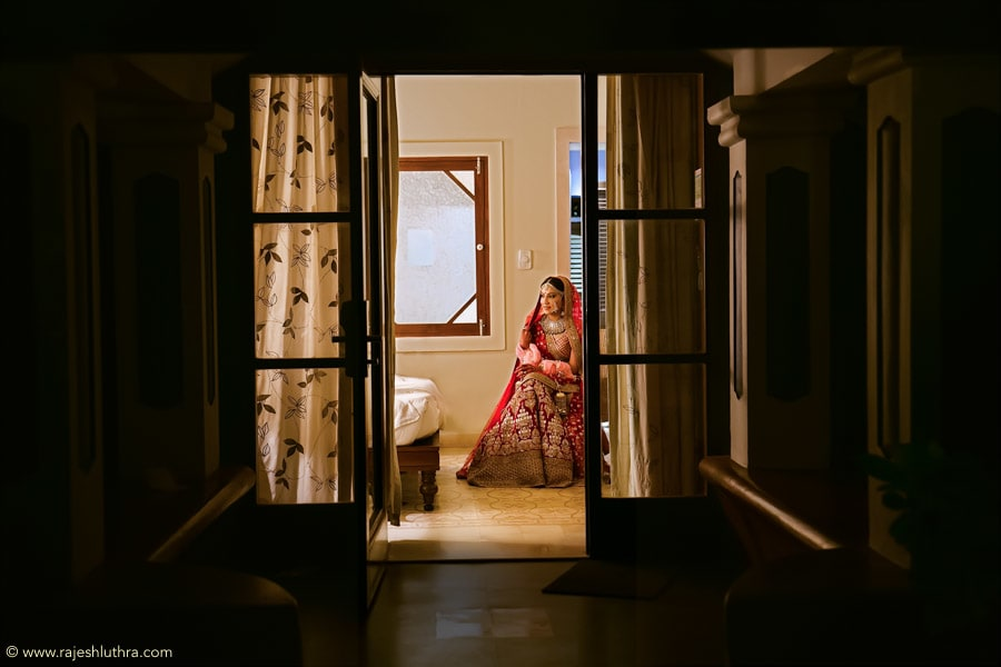 Bride In Crimson Red by Rajesh Luthra Wedding-photography | Weddings Photos & Ideas