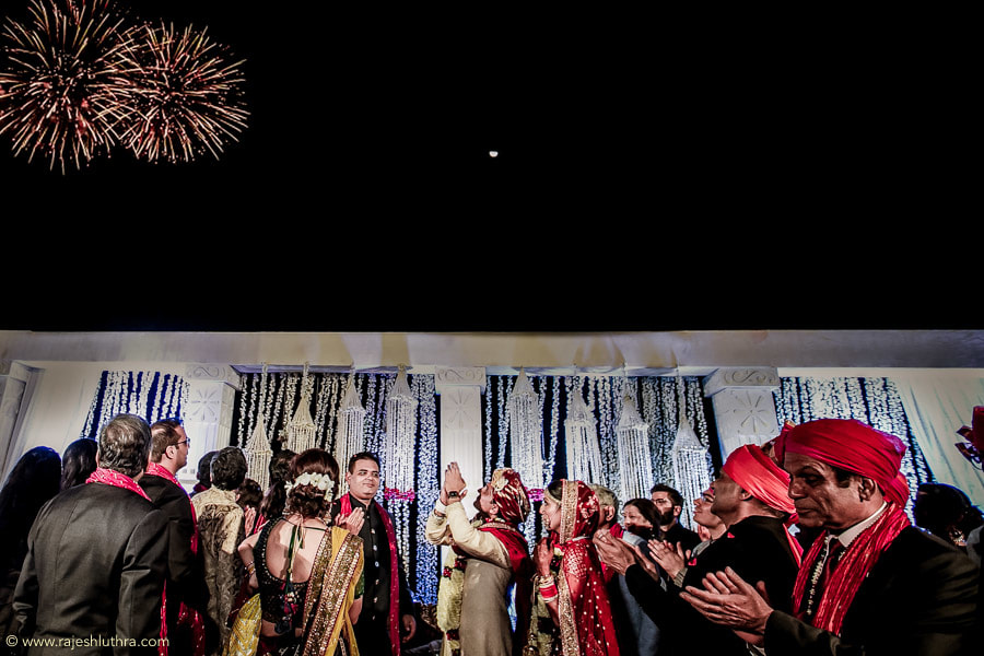 Fireworks At Gala Night by Rajesh Luthra Wedding-photography | Weddings Photos & Ideas