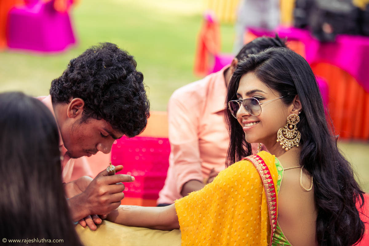Alluring yellow by Rajesh Luthra Wedding-photography   Weddings Photos & Ideas