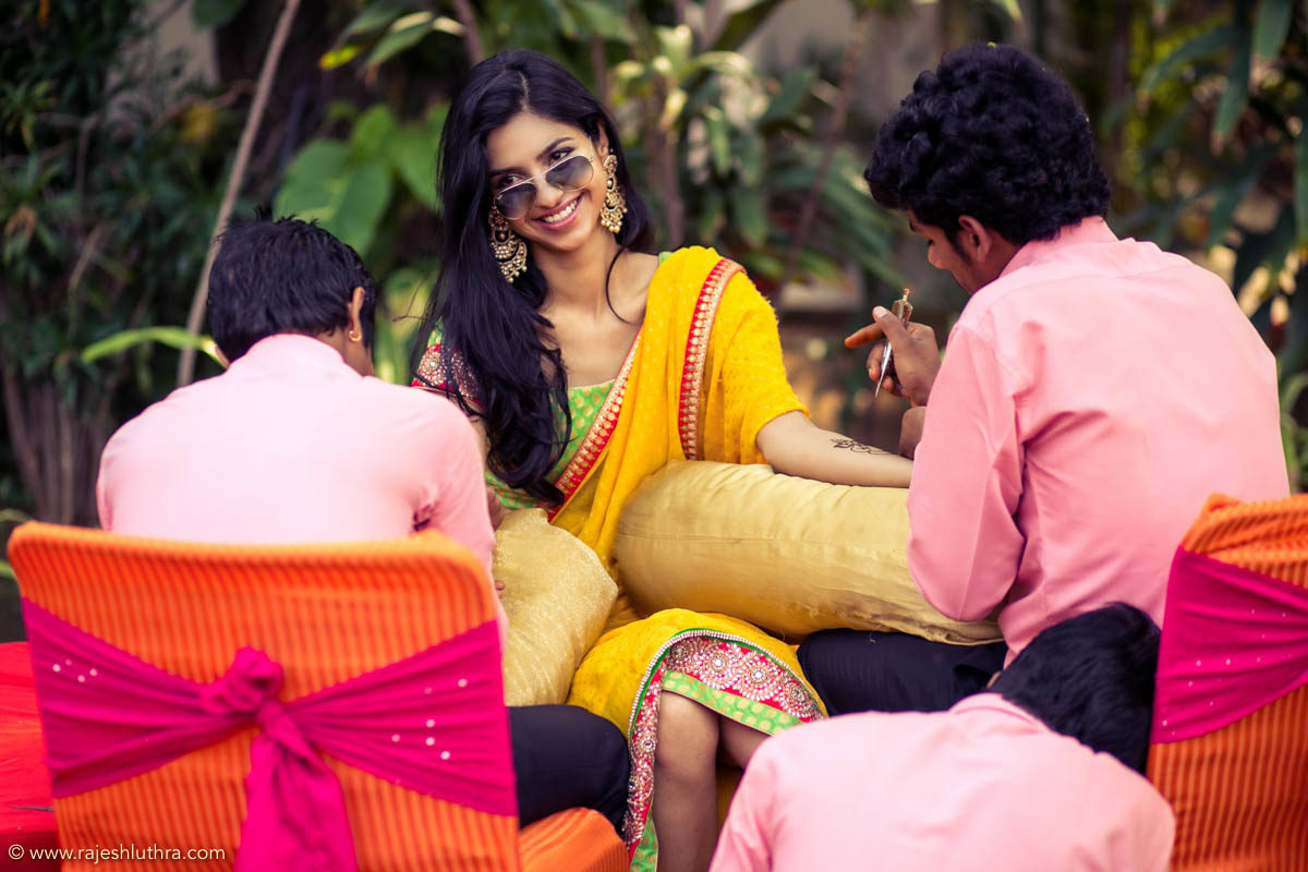 Yellow is The New Cool by Rajesh Luthra Wedding-photography | Weddings Photos & Ideas