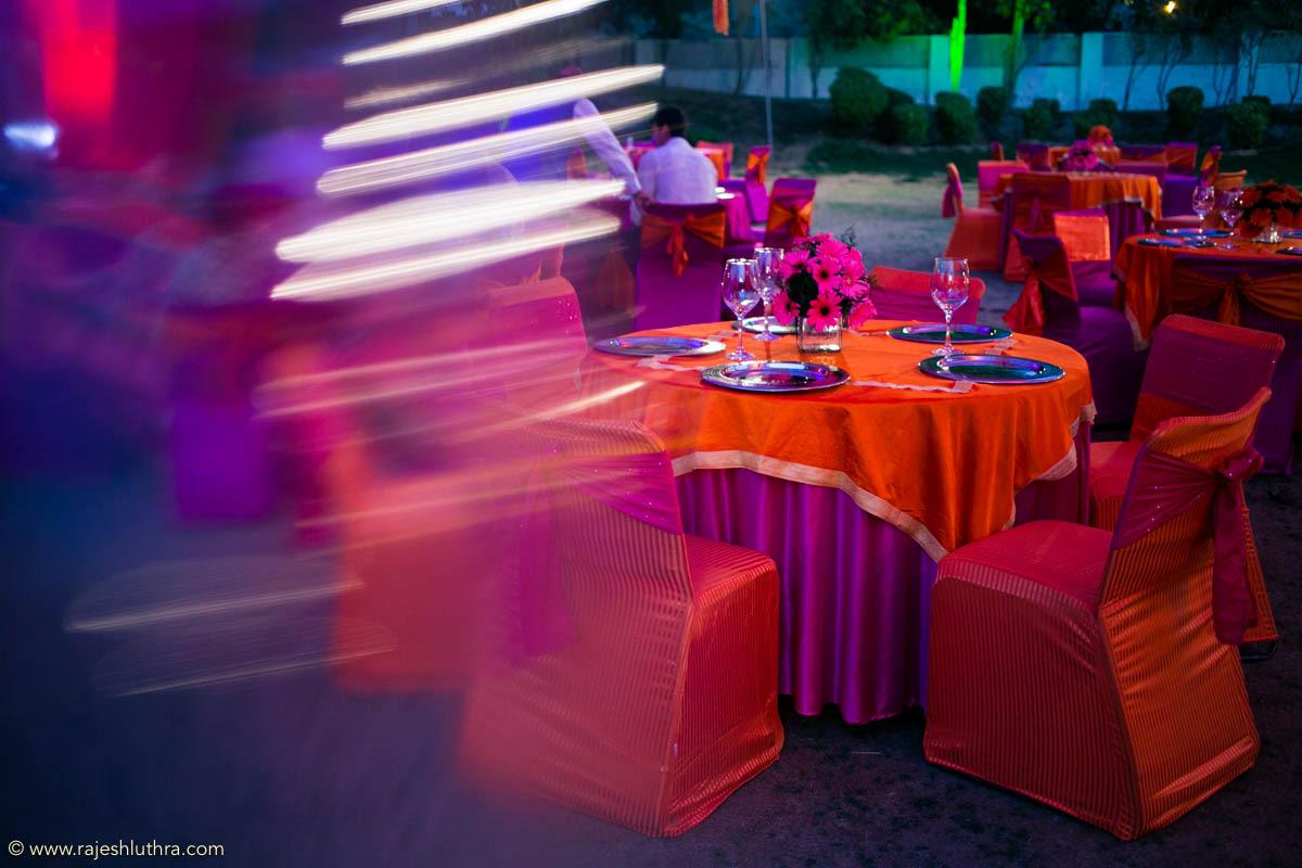 Elegant table settings by Rajesh Luthra Photography Wedding-photography | Weddings Photos & Ideas