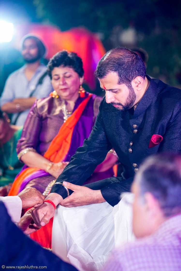 Black jacket with detailing by Rajesh Luthra Photography Wedding-photography | Weddings Photos & Ideas