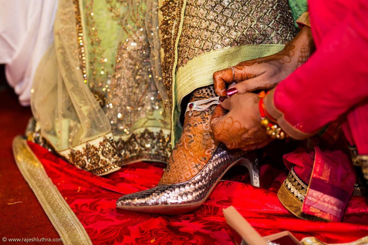 Silver sandals by Rajesh Luthra Photography Wedding-photography | Weddings Photos & Ideas