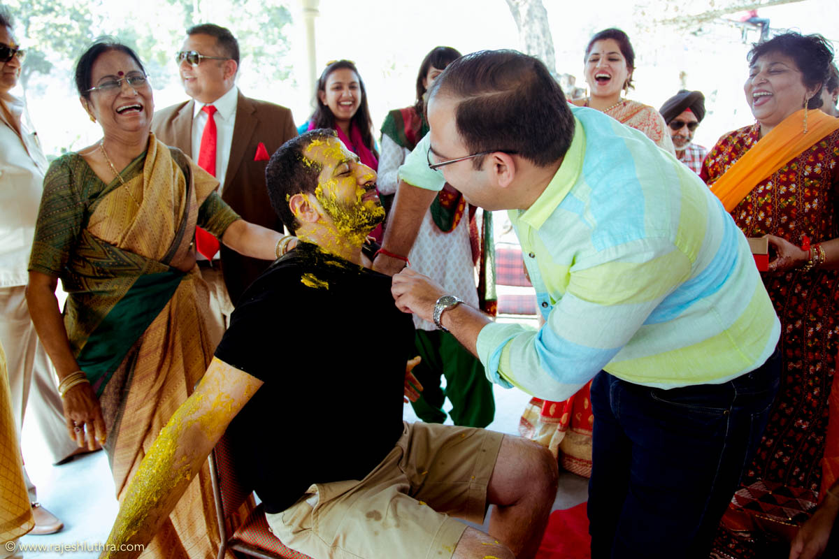 Haldi ceremony by Rajesh Luthra Photography Wedding-photography | Weddings Photos & Ideas