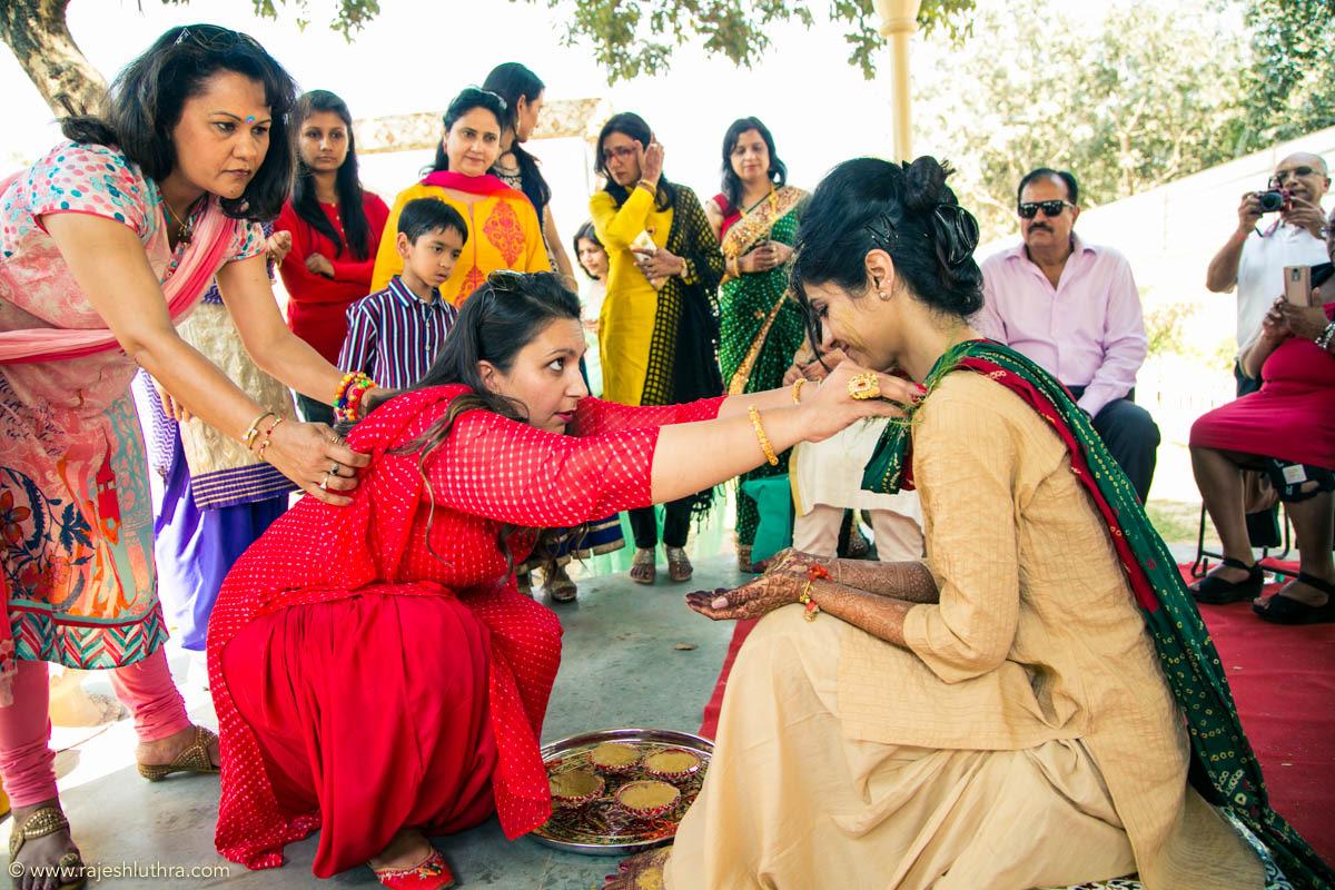 Auspicious haldi day by Rajesh Luthra Photography Wedding-photography | Weddings Photos & Ideas