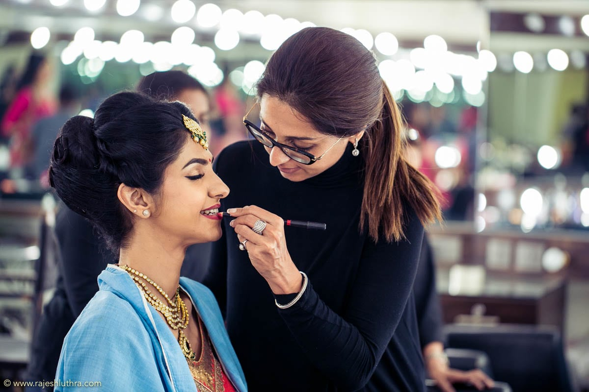 Bridal makeup by Rajesh Luthra Photography Wedding-photography   Weddings Photos & Ideas