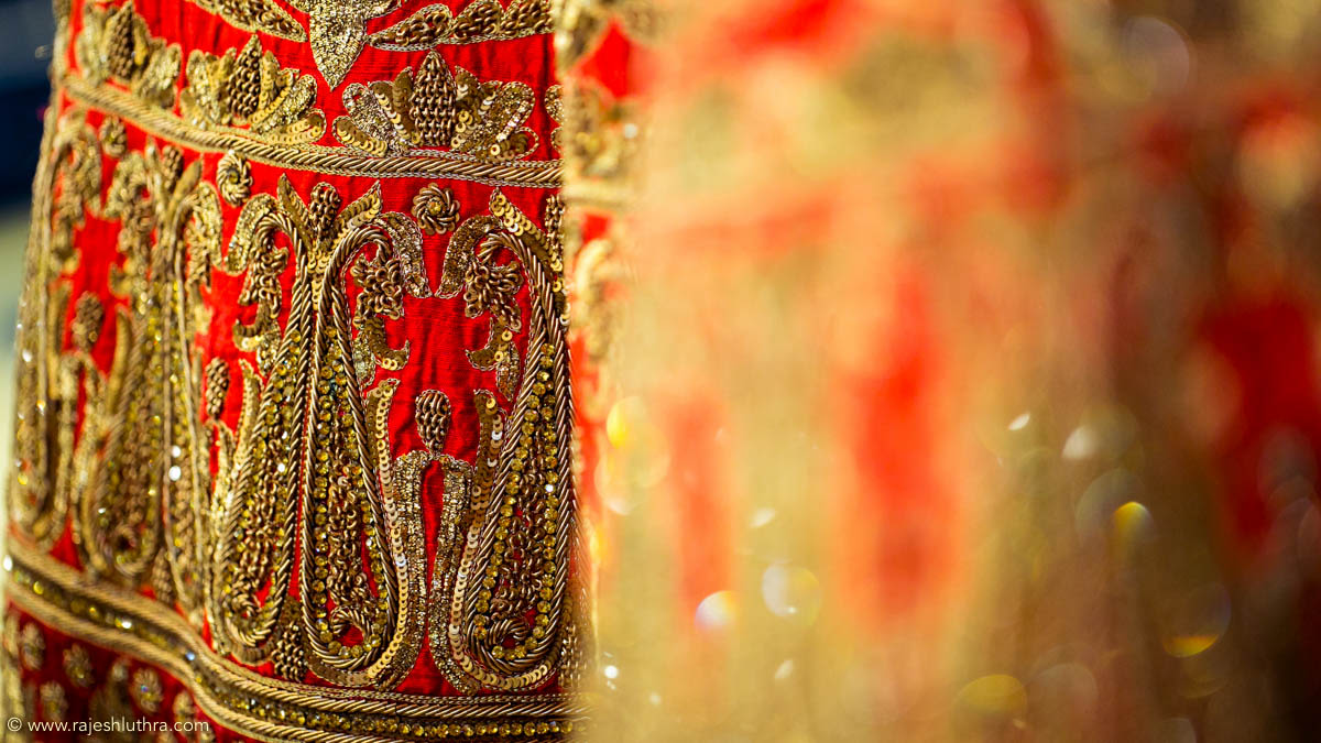 Exquisitely embroidered by Rajesh Luthra Photography Wedding-photography | Weddings Photos & Ideas