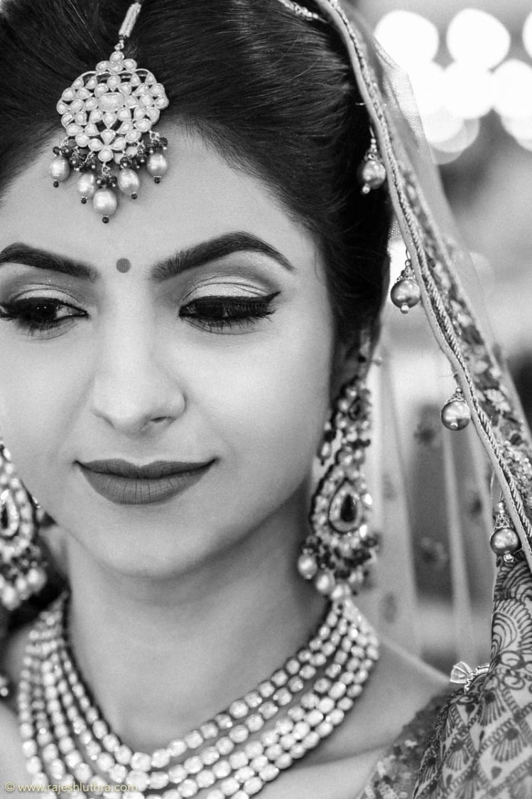 Strikingly beautiful Indian bride by Rajesh Luthra Photography Wedding-photography | Weddings Photos & Ideas
