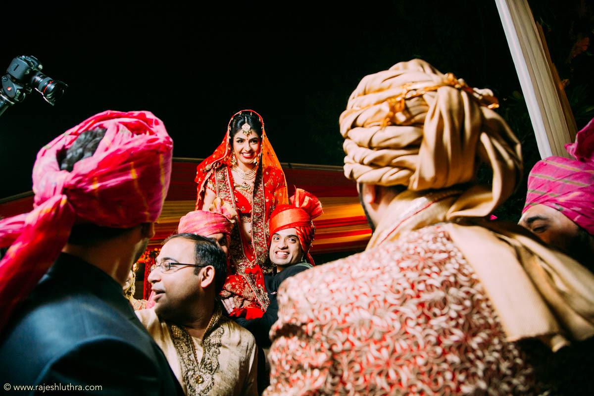 Happy bridal picture by Rajesh Luthra Photography Wedding-photography | Weddings Photos & Ideas