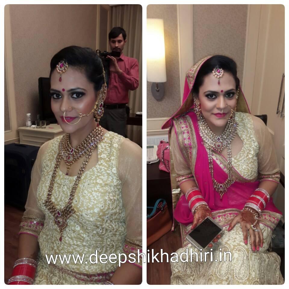 Reception Look by Deepshikha Dhiri Bridal-makeup | Weddings Photos & Ideas